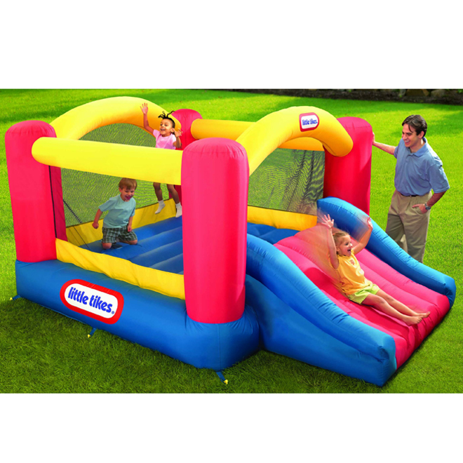 Inflatable Bouncer - Jump 'n Slide - Ages 3-8