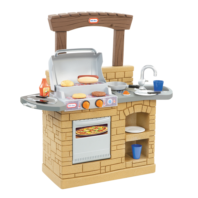 Cook 'n Play Outdoor BBQ Playset - Ages 2+