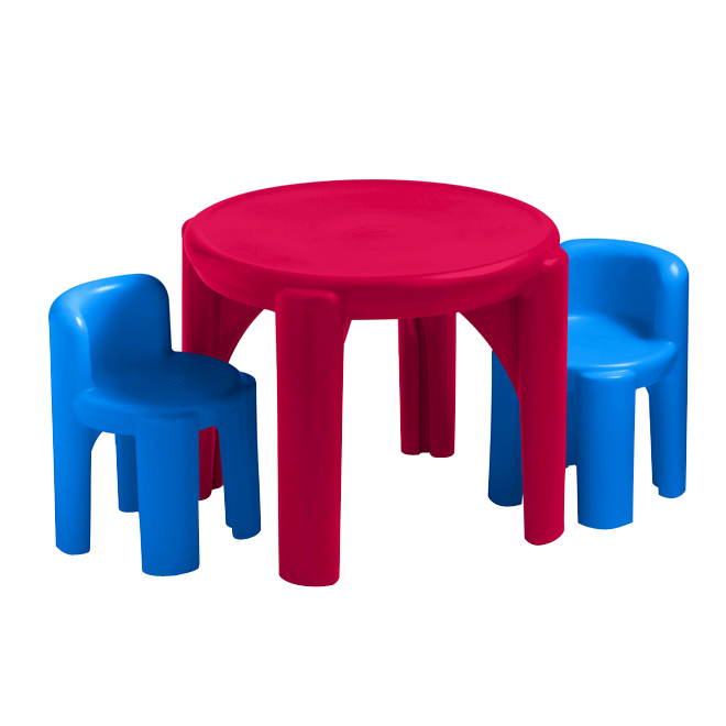 Kid's Table and Chair Set - Bright 'n Bold - Ages 2-6 Years