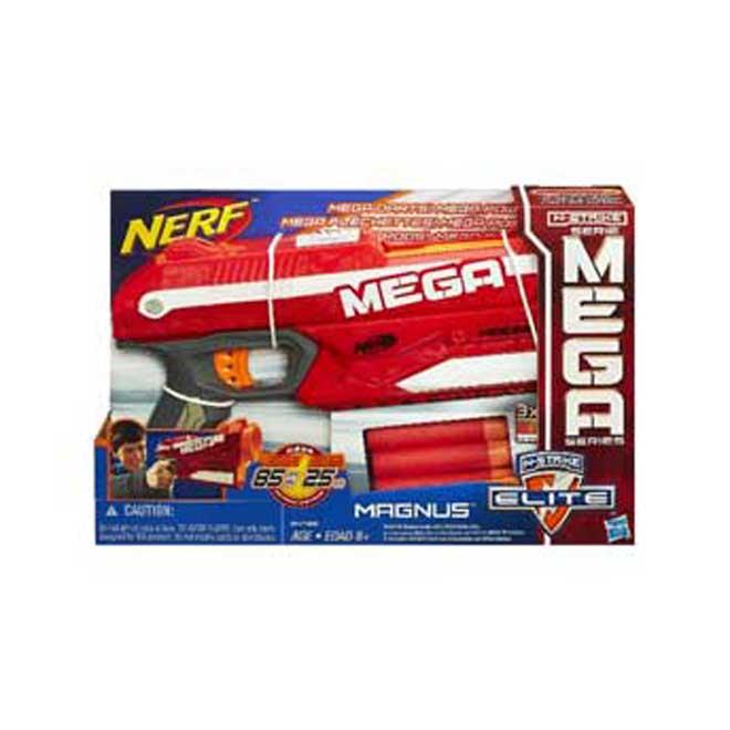 Foudroyeur Nerf, N-Strike Elite Mega Magnus, 8 ans et plus
