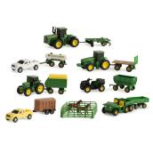 John Deere Vehicle Set - 20 Pieces - Ages 3+