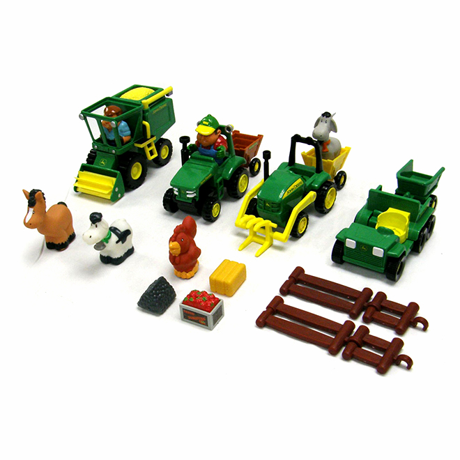 John Deere Farm Playset - Fun on the Farm - Ages 18+ Months
