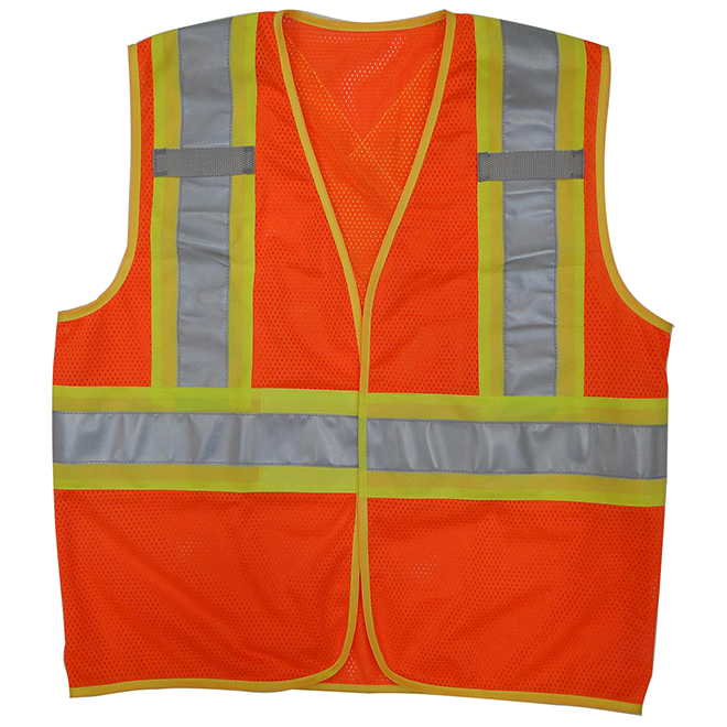 Veste de sécurité unisexe, orange, G/TG