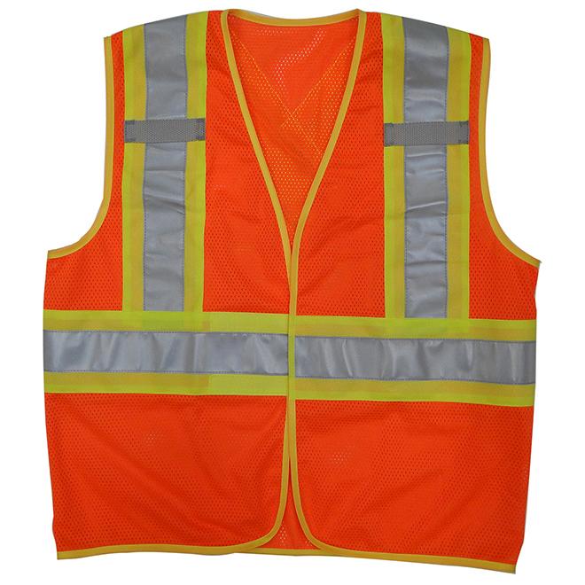 Open Road Unisex Security Jacket - Orange - XXL/XXXL