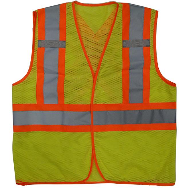 Veste de sécurité unisexe, vert, G/TG