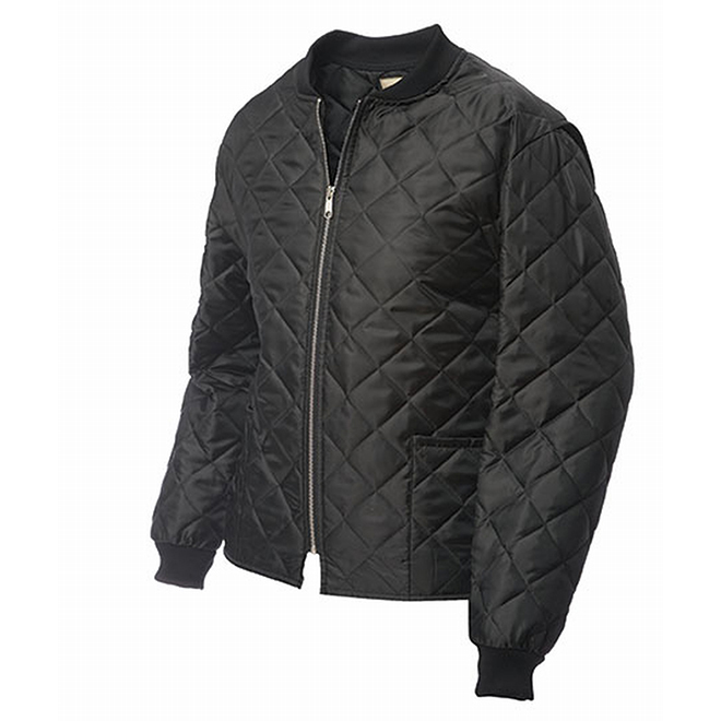 Men's Quilted Freeze Jacket - Black