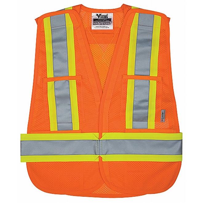 Veste de sécurité, grand/très grand, orange