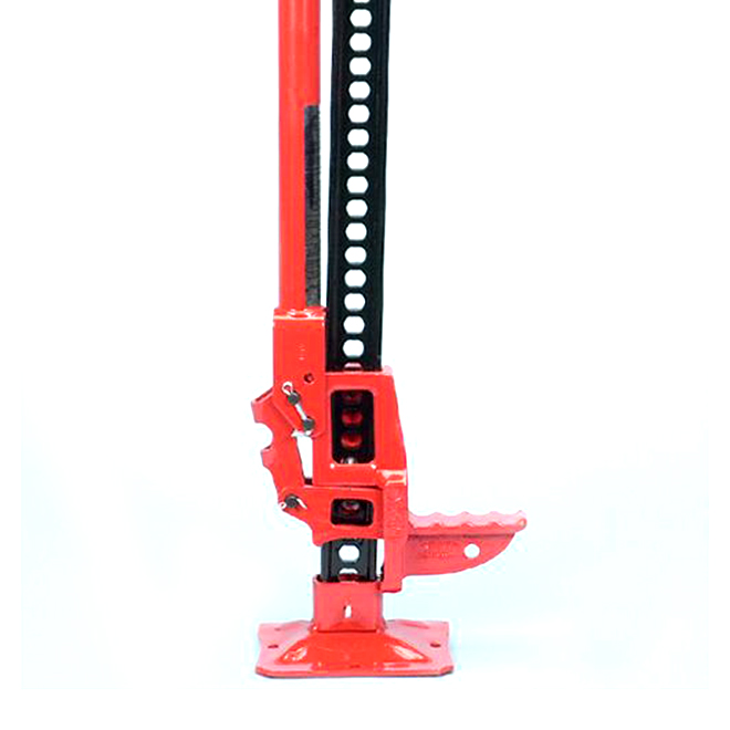 "Adjustable Steel Jack - 48""- Red"