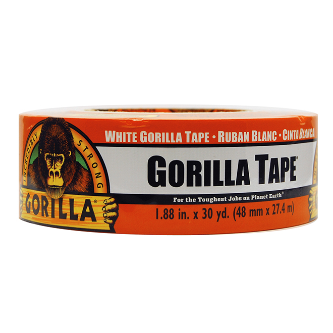 "Gorilla Duct Tape - 2"" x 30 yds - White"