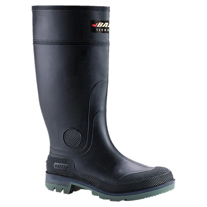"""Men's Enduro Boots - Rubber - 15"""" - Black - Size 8"""