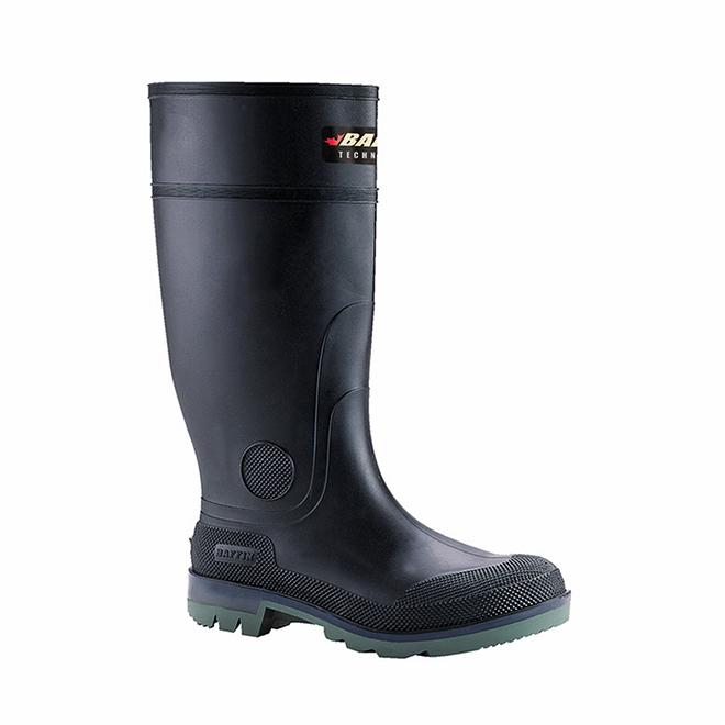 """Men's Enduro Boots - Rubber - 15"""" - Black - Size 12"""