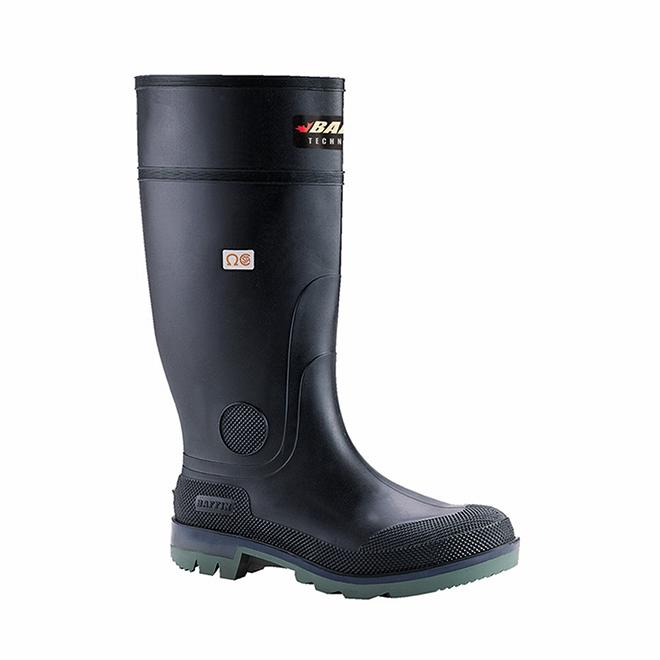 "Men's Enduro Boots - Flex Gel - Safety Toe - 15"" - Size 14"