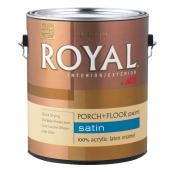 Latex Paint - Porch and Floors - Satin - 956 mL - Slate