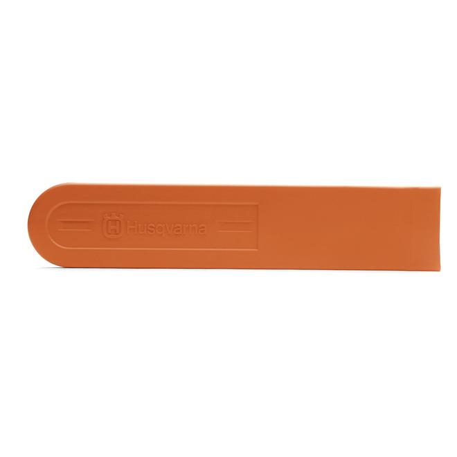 Protecteur de barre pour scie à chaîne Husqvarna, plastique, 21 po, orange