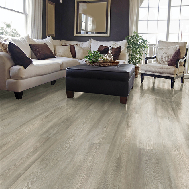 Laminate Flooring 8mm - Megaloc - Grey Pine