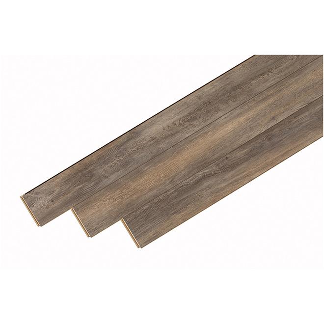 Plancher stratifié « Megaloc » 12mm, Gris