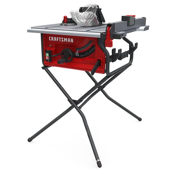 Banc de scie Craftsman de 10 po, lame à pointe en carbure