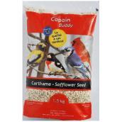 Graines de carthame pour oiseaux sauvages, 1,5 kg