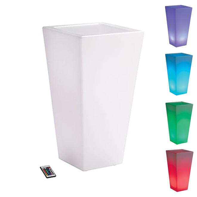Éclairage d'extérieur DEL «Vase»