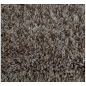 Shag Area Rug - 4' x 6' - Polyester - Light Brown