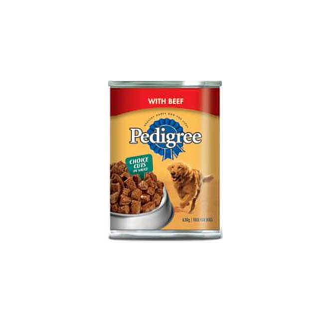 Nourriture pour chien, bœoeuf, 630 g