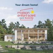 Ticket for the draw of the 2021 Maison Enfant Soleil house from Opération Enfant Soleil