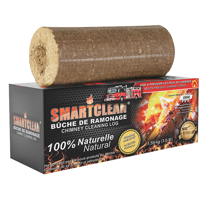 Natural Chimney Cleaning Log - 3.5 lb