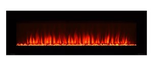 Paramount Premium Slim 20-in x 60-in Wall Mount Electric Fireplace