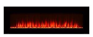 Paramount Premium Slim Wall Mount Fireplace - 20'' x 42''