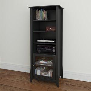 Tuxedo Curio Cabinet - 1-Door - Black