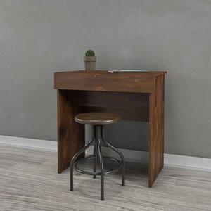 Nexera Vanity and Writing Desk - Truffle