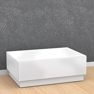 Nexera Blvd Coffee Table - White