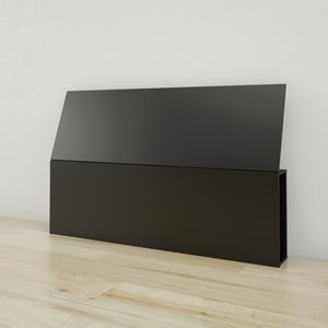 Nexera Queen Size Headboard - Black