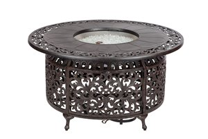 Convertible Outdoor Fire Pit - Black