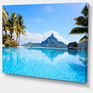 Toile imprimée Bora Bora, 40