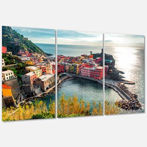 Vernazza Bay Aerial View - Wall Art - 36