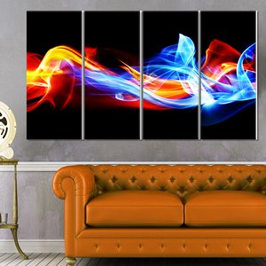 Fire and Ice -Metal Wall Art - 28