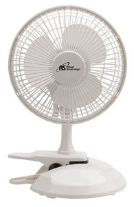Royal Sovereign Clip-On Table Fan - 6-inch - White