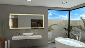 Mirror with LED Lighting - 70