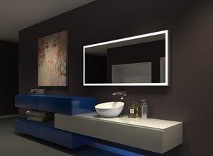 Miroir à éclairage DEL intégré, 65