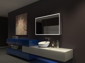 Medicine Cabinet with LED Lighting - 48