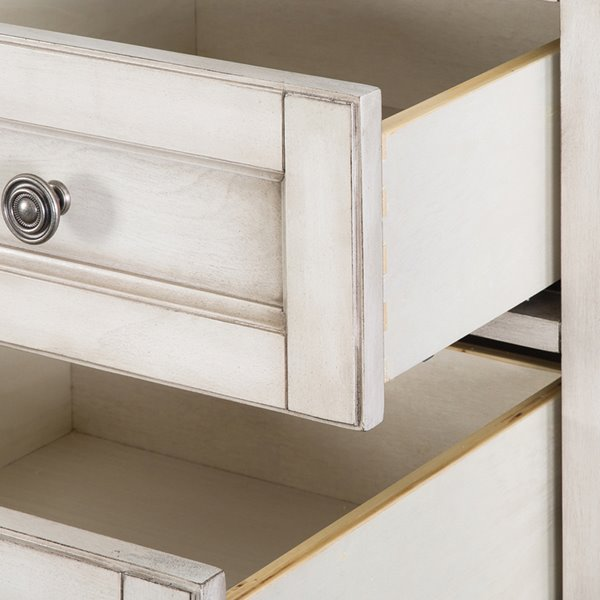 Foremost Corsicana 19-in Antique White Floor Cabinet