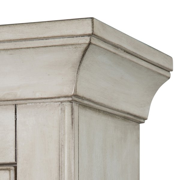 Foremost Corsicana 28-In x 24-In Antique White Wall Cabinet