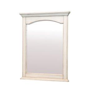 Foremost Corsicana 24-in Off White Bathroom Mirror