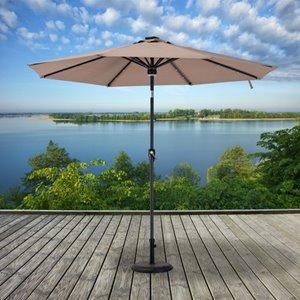 Parasol de patio Sunjoy, 9 pi, khaki