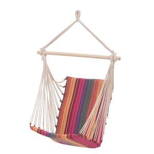 Sunjoy Outdoor Hammock - Pink Multicolour