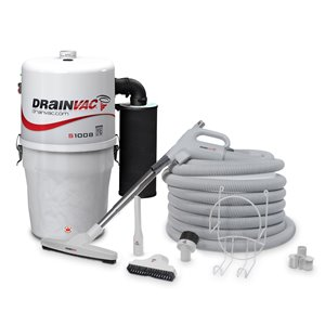 Central Vacuum - Compact - 17 L - with Accessory Kit