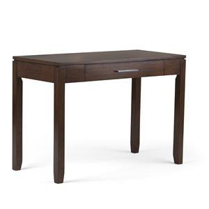 Cosmopolitan Home Office Desk - Auburn Brown