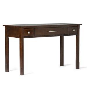 Avalon Home Office Desk - Tobacco Brown