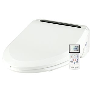 Clean Touch Bidet Toilet Seat - Elongated - White